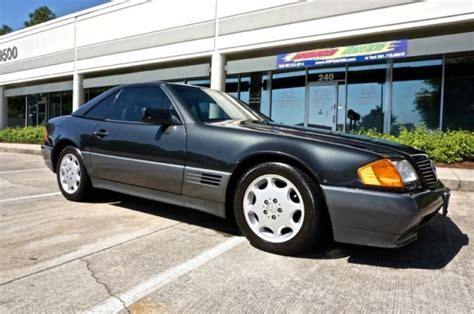 service manual repair anti lock braking 1992 mercedes benz 500sl seat position control 1992