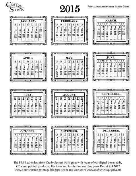 printable mini calendar december 2015 9 best images of printable mini calendar 2015 2015 mini