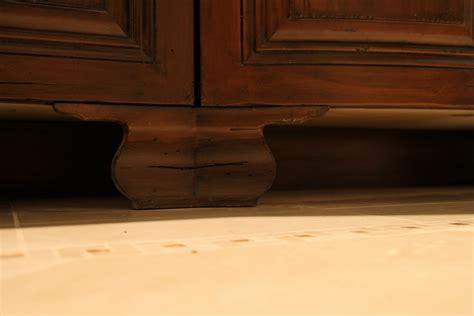 Bathroom Cabinets On Legs Legs On Bathroom Cabinets W L Rubottom Cabinets Co