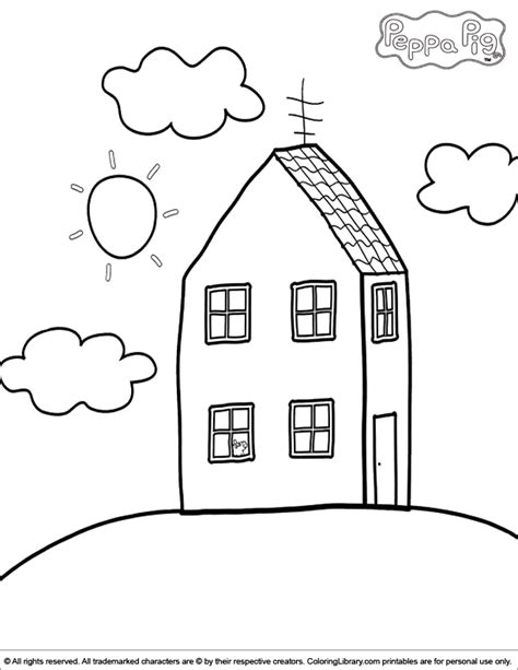 pigs coloring pages coloring home peppa pig coloring picture