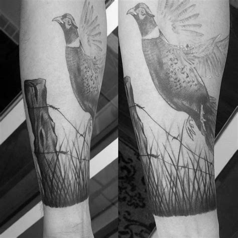 grass tattoo 40 pheasant designs for bird ink ideas