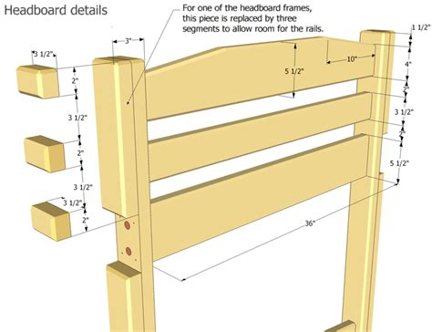 free bunk bed blueprints bunk bed plans