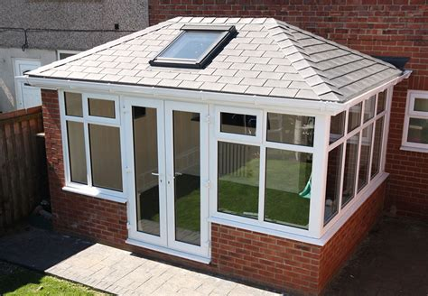 tiled shingle roof tiled solid conservatory roof crendon conservatories