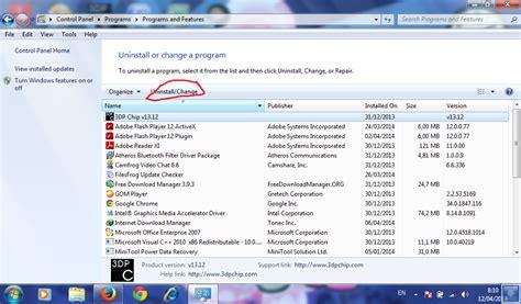 cara uninstall atau hapus software pada windows 7 herryant88