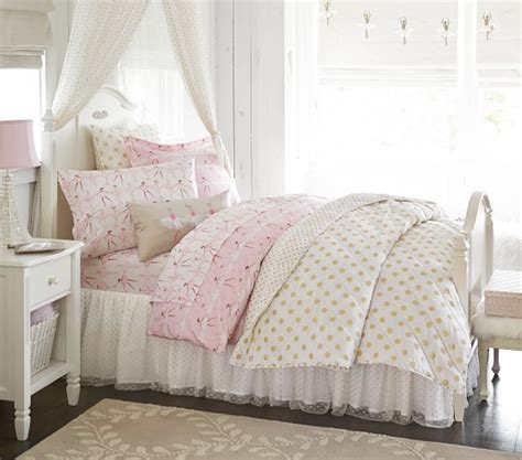 Gold Polka Dot Comforter by Gold Polka Dot Quilted Bedding Pottery Barn
