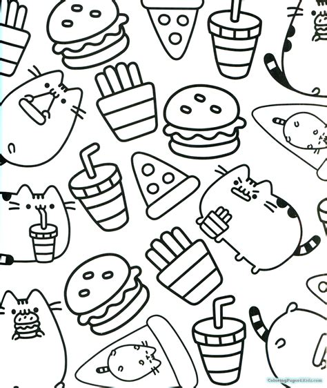 coloring books for pusheen coloring pages coloring pages for