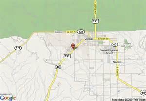 Vernal Utah Map by Map Of Super 8 Motel Vernal Vernal