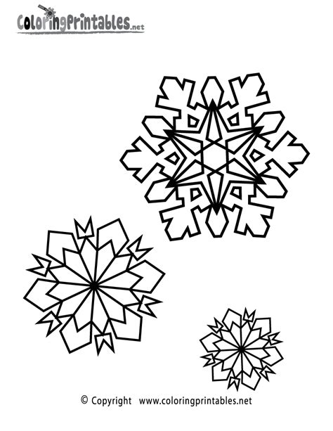 printable winter snowflakes easy snowflake coloring pages coloring pages