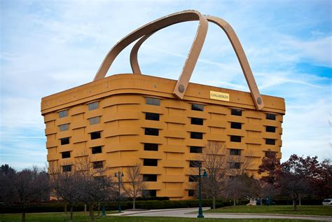 longaberger basket building for sale this basket shaped building is actually real