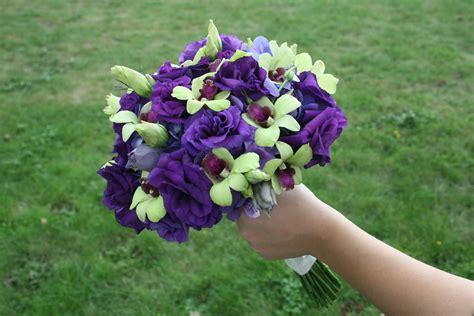 purple lisianthus stadium flowers