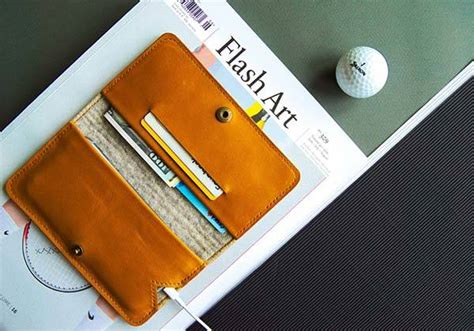 Handmade Iphone - seven handmade leather iphone wallet for 7 7 plus free