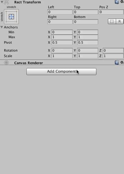 unity reset layout prototyping ui in unity part 4 layout components