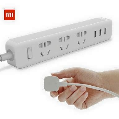 Original Colokan Listrik Xiaomi Mi Smart Power 3 Usb Port 2a saung gadget store all about it gadget aksesoris