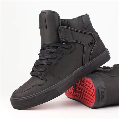 supra shoes for supra shoes vaider high top black black ebay
