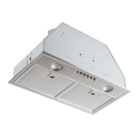 range insert shop broan undercabinet range insert 430 stainless steel with 4 brushed common 20 inch