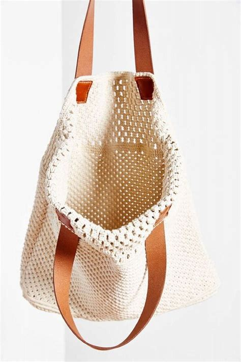 How To Make Macrame Purse - macrame tote bag diy fashion bags macrame