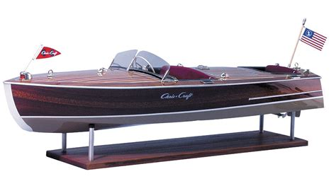 dumas chris craft model boats dumas chris craft racing runabout 1949 wooden 1 8 scale