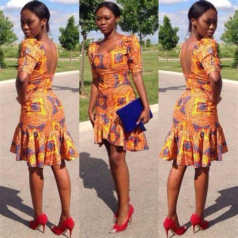short ankara gowns 6 amazing ankara short gown styles amillionstyles com