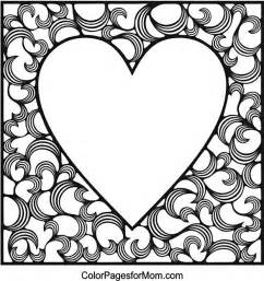 coloring pages for adults hearts hearts coloring page 4 pergamano