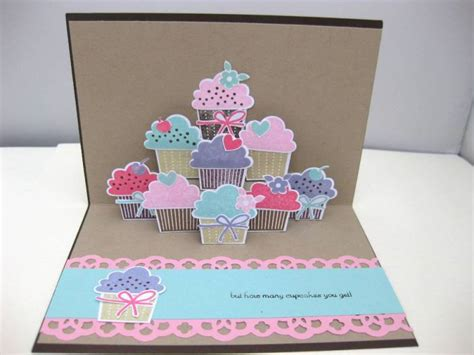 pop up cupcake card template cupcake pop up card by biscuitlid at splitcoaststers