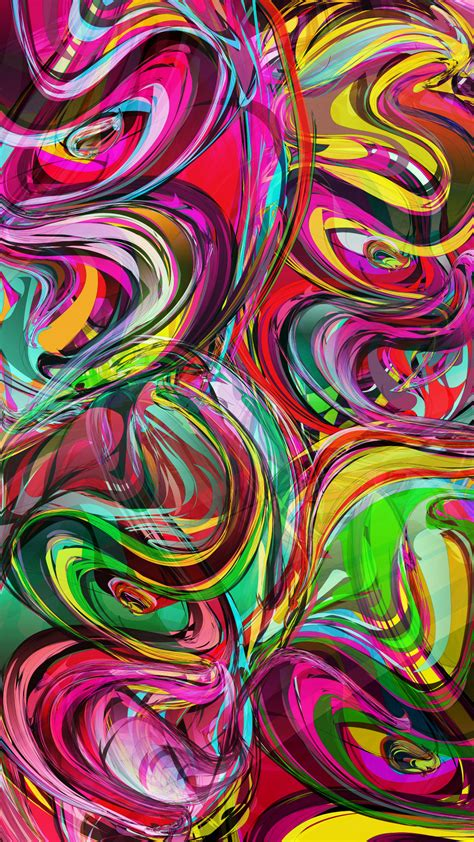 download colorful live wallpaper for android by colorful swirls water colors android wallpapers