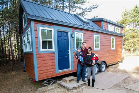large tiny house this family sold their big house to live tiny tiny house