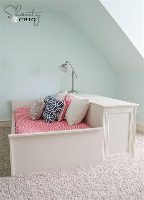 Platform Dresser Bed by Diy 6 Drawer Dresser Shanty 2 Chic