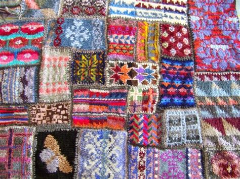 Knitting A Patchwork Blanket - cape pincushion unfinished objects ufos knitting