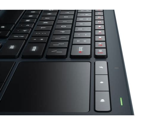 Logitech Illuminated Living Room Bluetooth Keyboard K830 Logitech Illuminated Living Room K830 Wireless Keyboard