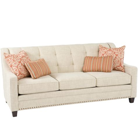 smith brothers  transitional sofa  tufting johnny
