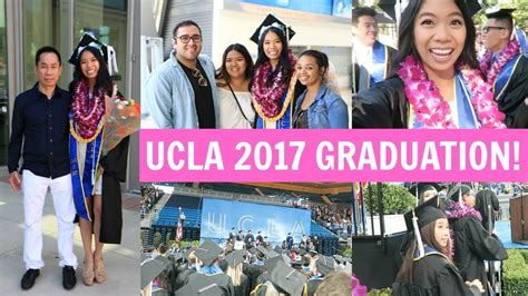 Ucla Mba Commencement 2017 by Vlogging On Stage During My Graduation Ucla 2017