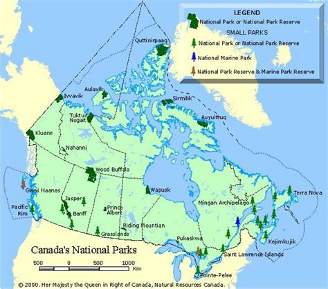 canadian national parks map canada s national parks with pictures and map