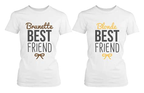 Where To Get Matching Shirts And Matching Best Friend Shirts