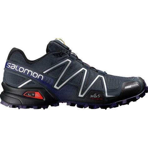 salomon speedcross 3 mens trail running shoes salomon speedcross 3 climashield trail running shoe s