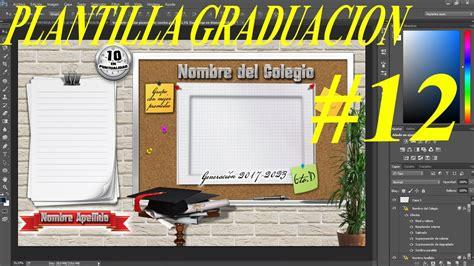 Www Freepik Es Plantillas De Graduacion   plantilla psd graduaci 243 n para colocar fotos dise 241 os