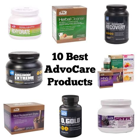 12 Best Products by 10 Best Advocare Products Balancing Today