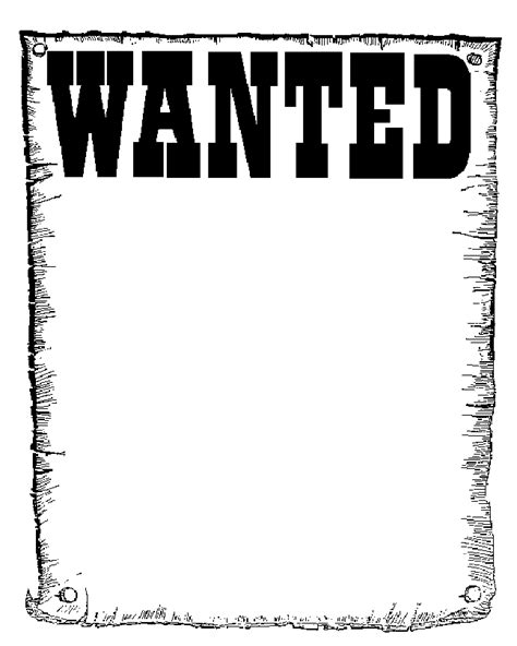 black and white wanted poster template the organ trail wanted poster