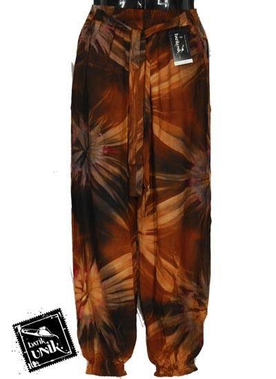 Celana Aladin Pelangi baju batik celana aladin katun motif pelangi bundel xl