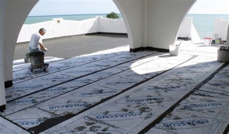 impermeabilizzazione terrazze pavimentate impermeabilizzante a base cementizia aquascud system 430