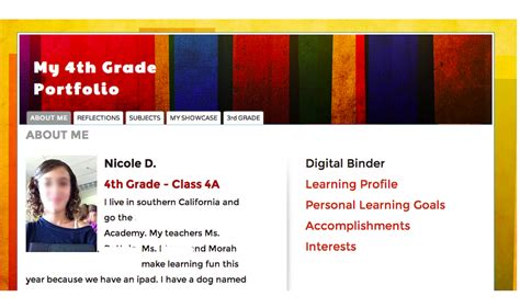 Edtechteacher The Beginner S Guide To Creating Digital Portfolios From Holly Clark On Edudemic Course Portfolio Template