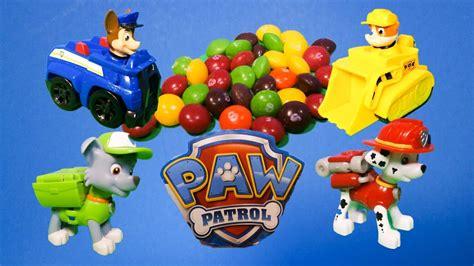 paw patrol working   marshall rubble