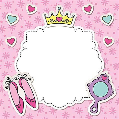 birthday pattern pink vector vector pink princess girl birthday background vector