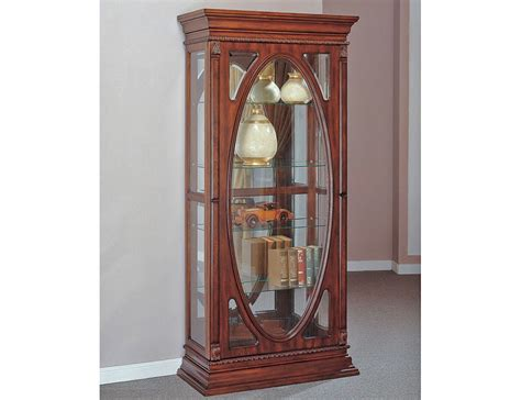 Curio Cabinet Pictures Becka Antique Curio Display Cabinet