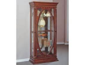 Curio Cabinets Antique Becka Antique Curio Display Cabinet