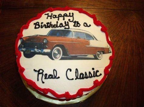 Vintage Car Birthday Cake   A Birthday Cake