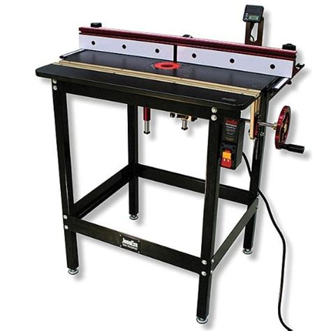 jessem router table jessem mast r lift excel ii included complete router table