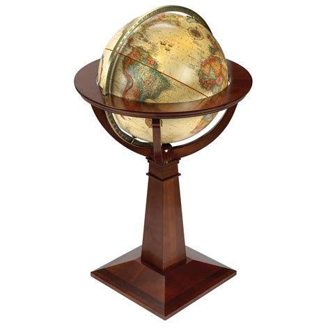home decor globe logan 16 antique globe globes office accessories