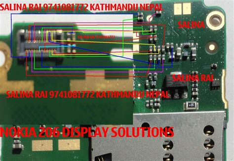 Lcd Hp Nokia Asha 206 nokia asha 206 lcd display problem solution with jumpers