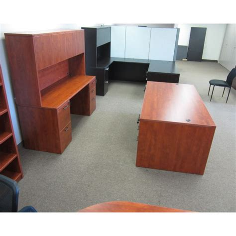 closeout office furniture closeout laminate desk with credenza tri state office