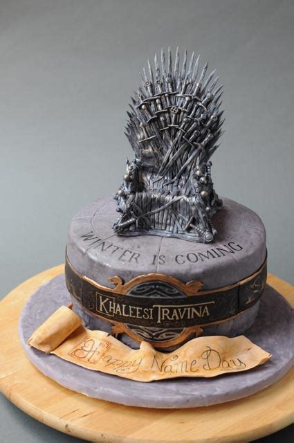 game thrones cake coming cakes caralin